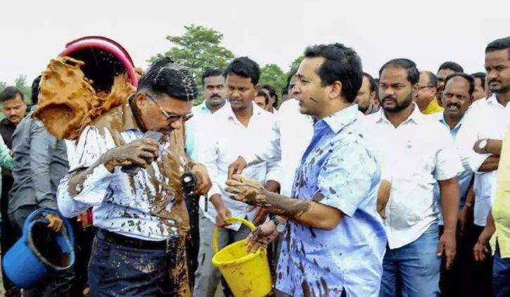 Rishi Kapoor Reacts On Nitesh Rane's Mud Attack Video, Says Find Proper Way To Punish Engineers
