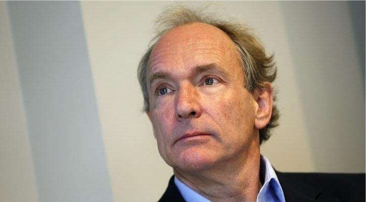 sir tim berners-lee father of the internet delete facebook