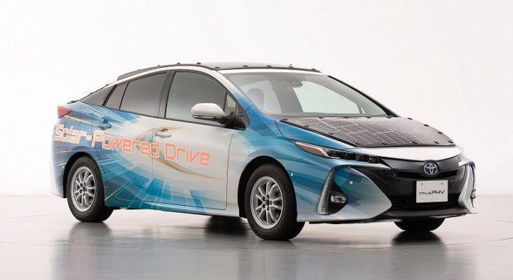 Toyota Solar Car, Toyota Prius Solar Roof, Toyota Hybrid Solar Panels, Toyota Solar Energy, Solar Po