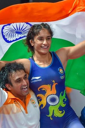 Vinesh Phogat won gold