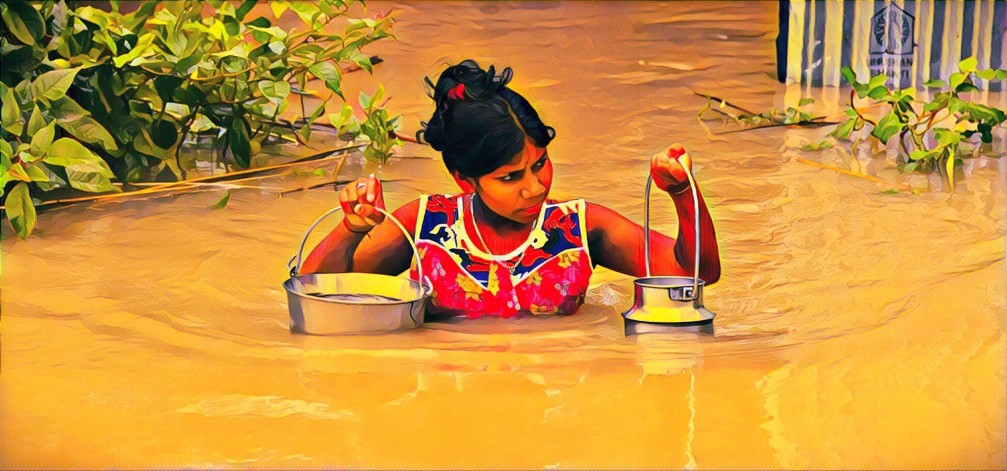 world flood