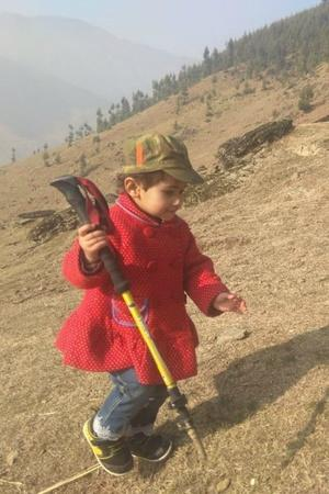 youngest hiker