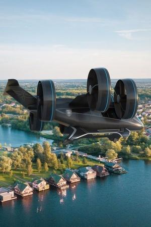 2024 Paris Olympics Paris Flying Taxis Paris VTOL Service Paris Olympics Flying Taxi