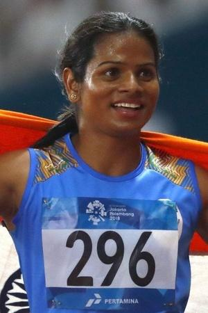 A picture of Dutee Chand