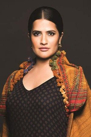 A picture of singer Sona Mohapatra