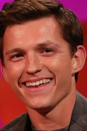 A picture of Tom Holland smiling because he spoiled Avengers Endgame