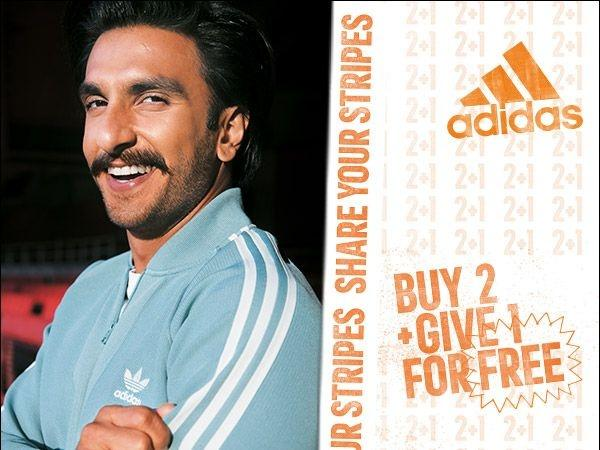 Adidas, Ranveer Singh, Share Your Stripes