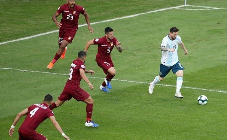 Argentina See Off Venezuela To Set Up Titanic Semis With Brazil
