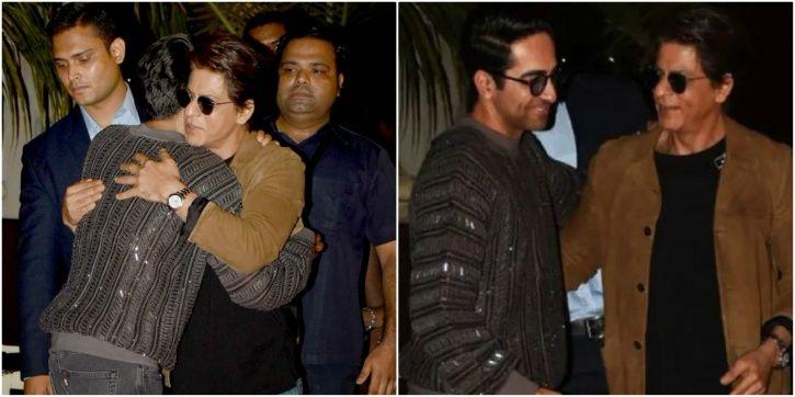 Ayushmann and SRK