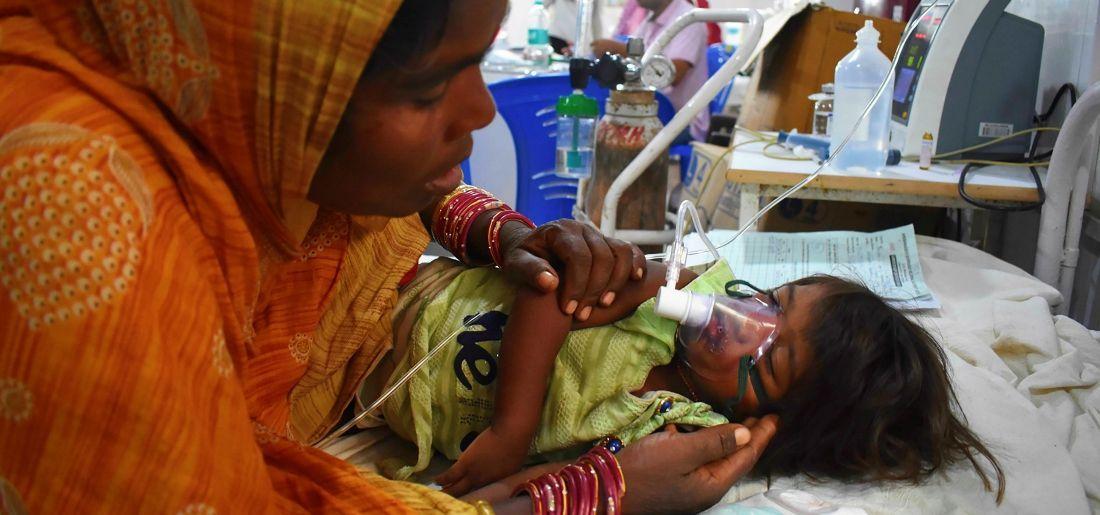 Bihar Encephalitis Toll Rises To 136, Hospital's Prisoner Ward Converted Into ICU To Accommodate Chi