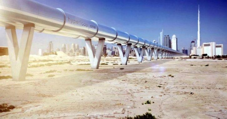 dubai hyperloop smart city