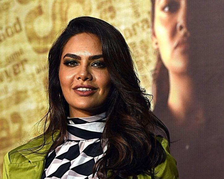Esha Gupta at the trailer launch of One Day Justice delivered.