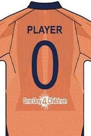 ICC World Cup 2019 Orange Jersey