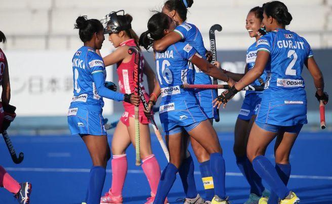 India won in hockey