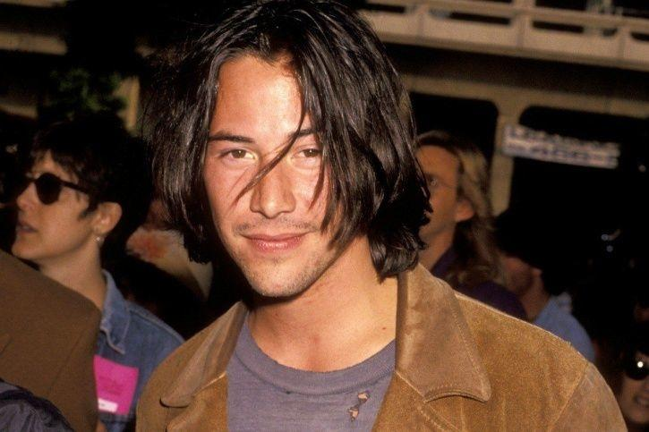 Keanu Reeves hockey with strangers he befriended on the street before he was famous.
