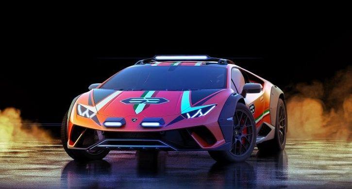 Lamborghini Huracan Sterrato, Lamborghini Huracan Off Roader, Off Roading Lamborghini, Huracan Sterr