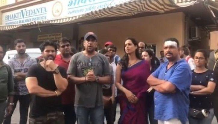 Mahie Gill Attacked