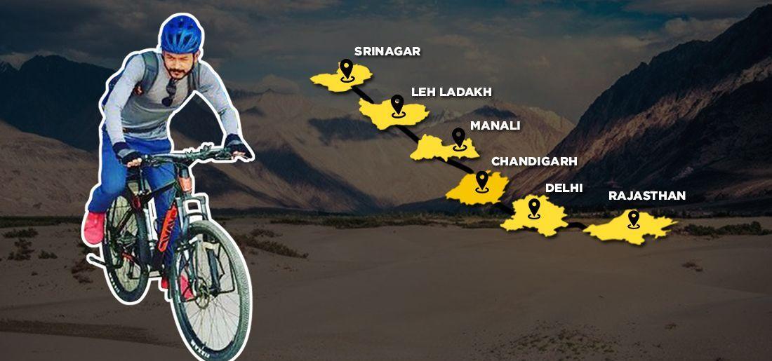 manipur cyclist