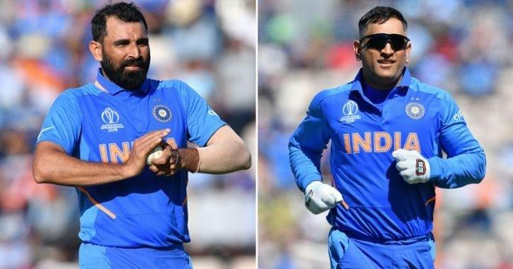 Image result for Dhoni asked to throw a yorker: Shami's blast