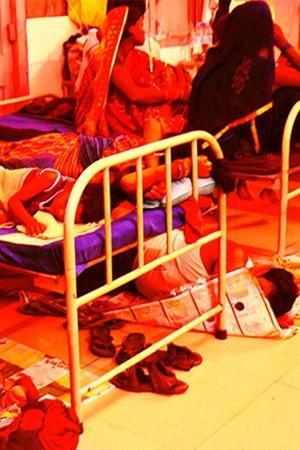 Over 100 Children Dead Bihar Health Minister Asks Match Score Modi Tweets Yoga Shah Cricket