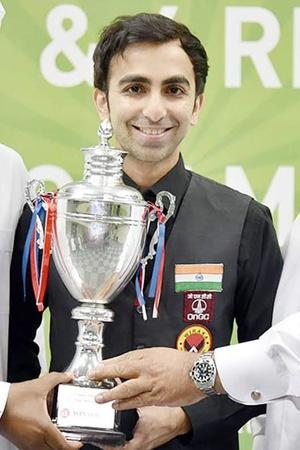 Pankaj Advani Clinched The Asian Snooker Championship