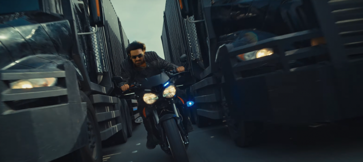 Prabhas performs high-octane stunts in Saaho teaser.