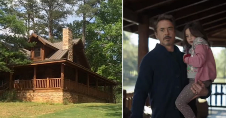 Robert downey Jr AKA Iron Man AKA Tony Stark's cabin is available on Airbnb.
