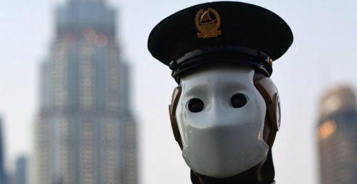 robot cop smart city