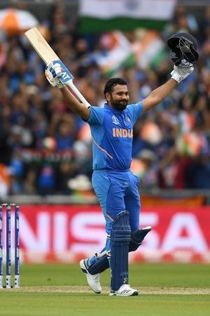 Rohit Sharma made 140