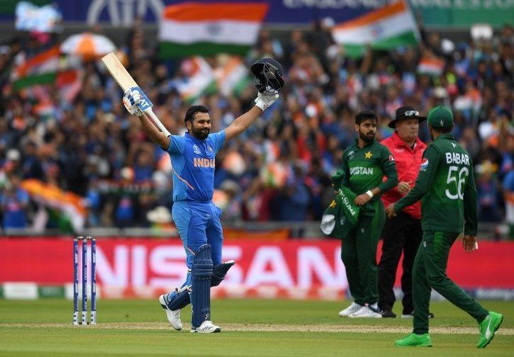 Rohit Sharma made 140