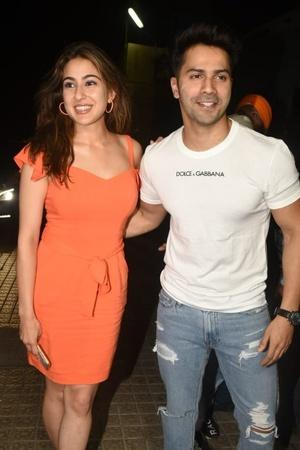 Sara and VArun