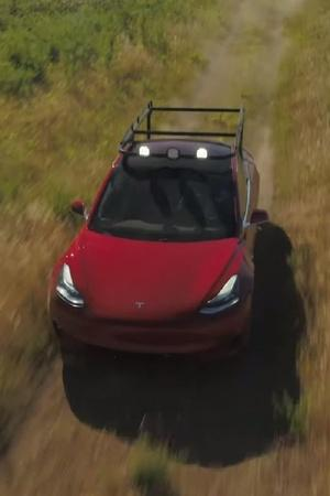 Tesla Pickup Truck Truckla Simone Giertz YouTube Tesla Modification Tesla Truck DIY Tesla Truck