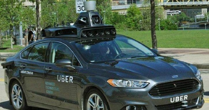 uber self driving car smart city