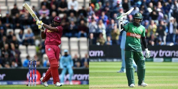 West Indies play Bangladesh