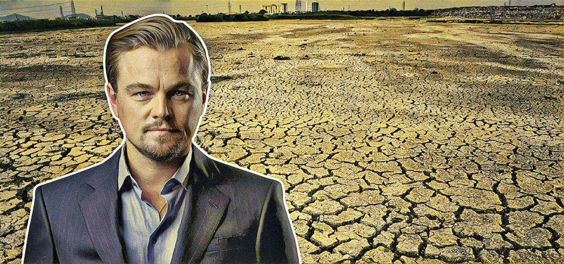 While Bollywood Is Busy Making Money, It Seems Only Leonardo Has Time For India's Water Crisis