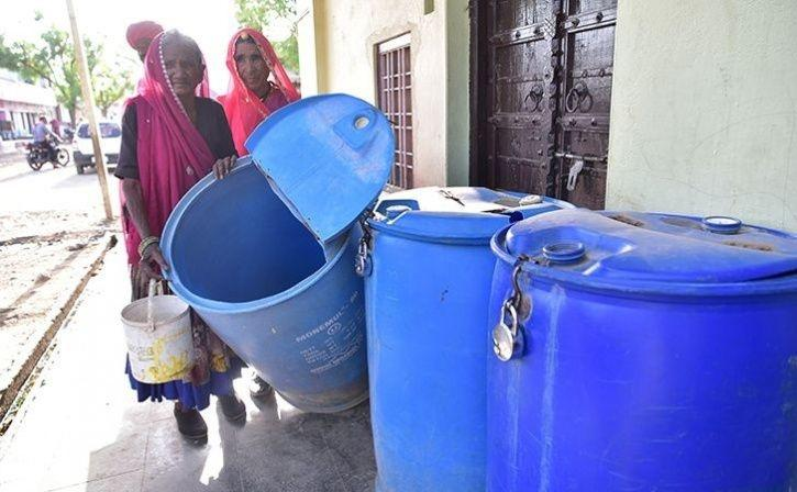 Women Cover Miles For A Few Litres Of Water