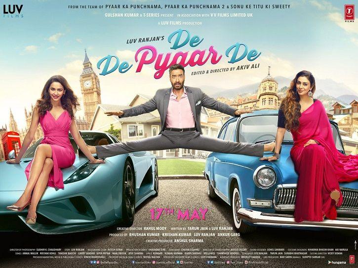 Ajay Devgn Shares De De Pyaar De First Poster Fans Cannot Stop