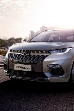 Baidu Chery Automobiles AI Powered Electric Car Exeed TX Electric China Electric Cars Electric