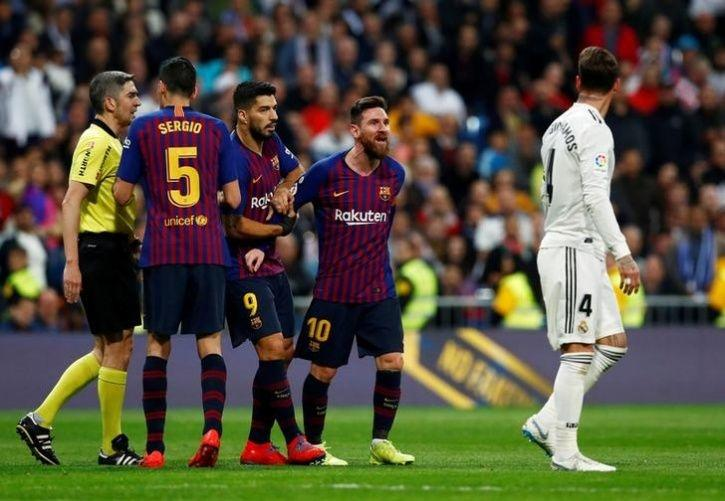 'El Clasico' Between Barcelona and Real Madrid Postponed ...  |Barcelona- Real Madrid