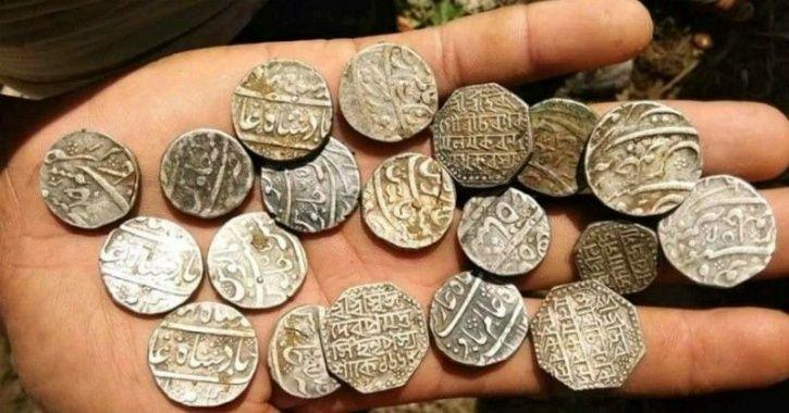 300-Year-Old Antique Coins From Ahom Dynasty Found In Assam