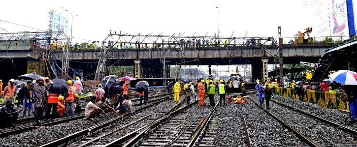 CST Foot Overbridge Collapse