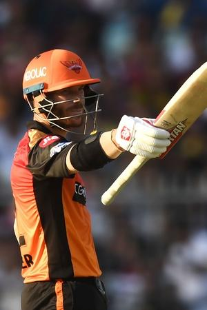 David Warner Smashes Fifty On IPL Comeback