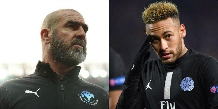 Eric Cantona almost punched Neymar