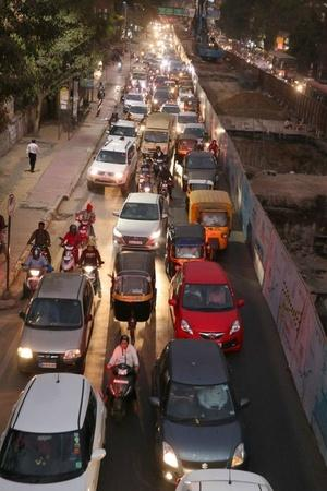 he density of private cars in Mumbai soared by 18 in just two years The city has 510 cars per km o