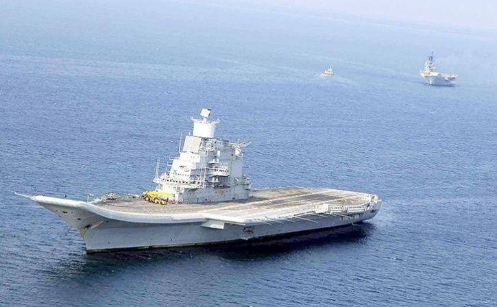 Navy Deployed Aircraft Carrier INS Vikramaditya, Nuclear Submarine