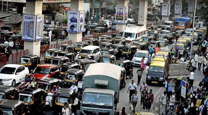 Mumbai, traffic, congestion, pollution, New Delhi, Maharashtra, Narrow space