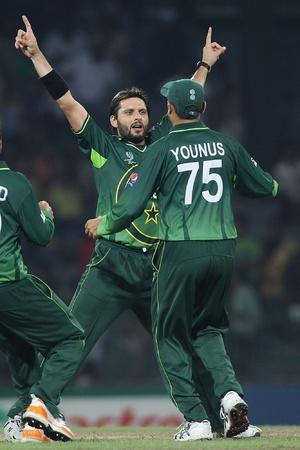 Pakistan won by 4 wickets