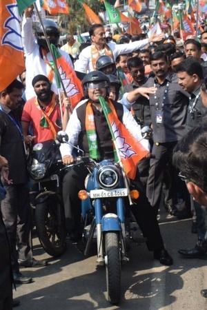 Roadshows bike rallies plea elections Lok Sabha environment security