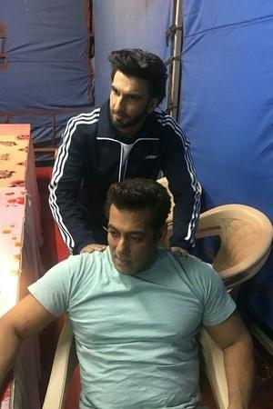 Salman and Ranveer