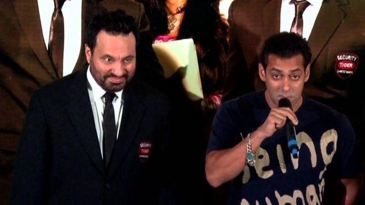 Salman Khan and Shera